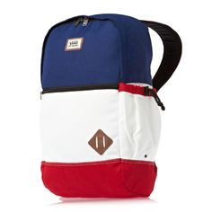 Can't go wrong with Vans. Buy Vans, Herschel Heritage Backpack, Laptop Backpack, Tomboy, Color Blocking, Korean Fashion, Red, Bags, Style