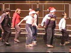 """Santa Claus is Coming in a Boogie Woogie Choo Choo Train"" ~ The Tractors (3:50)"