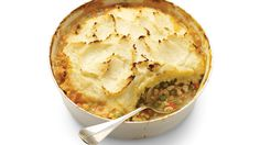 shepherd's pie with ground turkey, mashed potatoes and parsnips (making this today!)