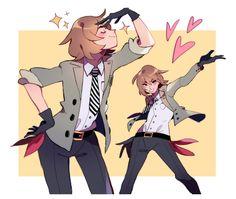 Goro in Persona 5 Dancing Persona 5 Goro, Stars At Night, Star Night, Goro Akechi, Ren Amamiya, Shin Megami Tensei, Anime, Cute Art, Video Games