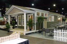 Granny pods tiny homes Nationwide Homes Unveils Custom, Modular Granny Flats Small Modular Homes, Modular Cabins, Tiny Homes, Prefab Homes, Small Cottages, Cabins And Cottages, Small Houses, Beach Cottages, Granny Pods
