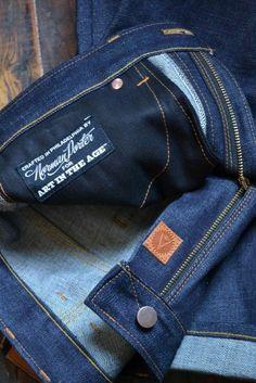 Raw Denim, Blue Denim, Blue Jeans, Denim Vintage, Vintage Leather, Handmade Leather, Denim Branding, Fashion Branding, Denim Pants
