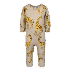 Mini Rodini Giraffe LL Body Beige
