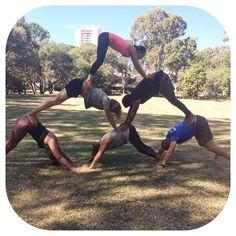 #acroyoga #yoga #parkyoga #acrofun #gymnastics #calisthenics #nomeatathlete #longevity #vitality #bodyweightexercises #realhealth #vegansofig #vegansofinstagram #vegansofaus by mitchy.williams