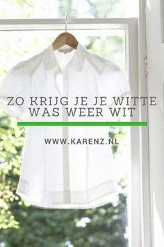 Zo krijg je je witte kleding weer wit (en je hebt deze middeltjes vast al in huis)