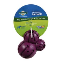 Barnacle Dog Toy - fill it with kibbles, treats, etc. and let the fun begin!