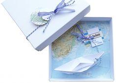 """Geldgeschenk für eine Reise """"Schiff"""" (z.B. Gutschein) (Diy Geschenke Oma)"""