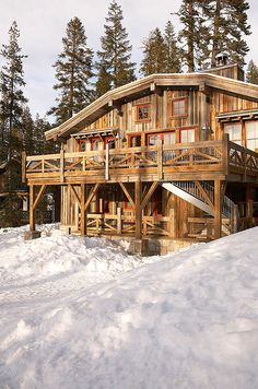 Ski Barn by Robert Kelly | HomeAdore