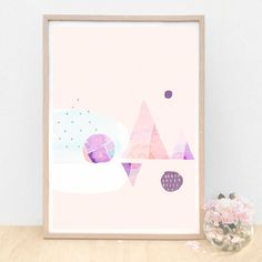 Modern Abstract Art - Happiness by AMMIKI