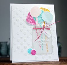 Love this card so much by Nichol Magouirk using Simon Says Stamp Exclusives and the June 2014 card kit.