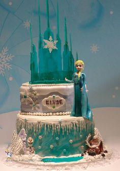 Coolest Frozen Inspired Birthday Cake... Coolest Birthday Cake Ideas