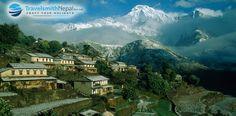 Gurung village of Nepal..