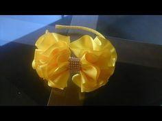 Como fazer laço de gorgurão em camadas - YouTube