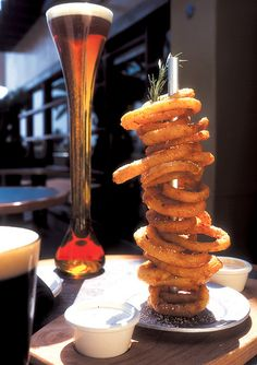 Onion Ring Stand.