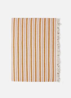 MULTI STRIPE - Goldenrod Tablecloth - Heather Taylor Home