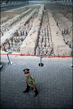 Terracotta Army Guard  Xian  | China photo