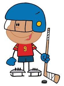 ... clipart Hockey on Pinterest | Hockey, Hockey players and Ice hockey