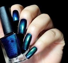 Fashion Polish: Colors by Llarowe Fall collection part 1 : the shimmers and glitters! - Midnight in Montana