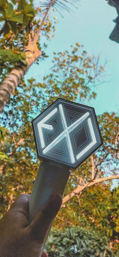 Lightstick Exo, Kpop Exo, Chanyeol, Exo Album, Exo Lockscreen, Bts And Exo, Kaisoo, Kpop Merch, Kpop Aesthetic