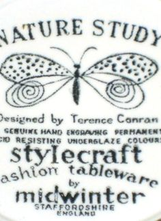 Early Terence Conran Terence Conran, Live And Learn, Nature Study, Modernism, Homework, Packaging, Butterfly, Plant, Characters