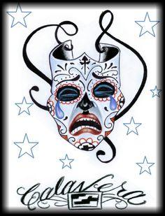 Cry later ,, by calavera calaveratat2.com