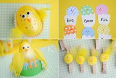 Cute chicks...from one seriously creative and talented chick, Katherine Marie :)!