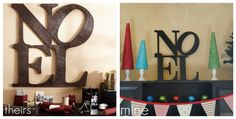 DIY: Pottery Barn Knock-Off {Noel Sign}