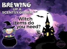 #Scentsy ordering add for the Halloween season.