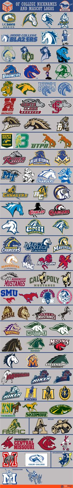 logomostbest's Content - Page 2 - Chris Creamer's Sports Logos Community - CCSLC - SportsLogos. College Football Logos, College Sport, Football Nails, Logo Caballo, Logo Branding, Branding Design, Sports Art, Sports Logos, Horse Logo
