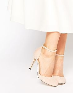 Image 1 of Blink Ankle Strap Heeled Shoes Potential bridesmaid shoes #anklestrapsheelsprom