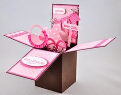 Snippets By Design: Card-in-a-Box for a Baby Shower