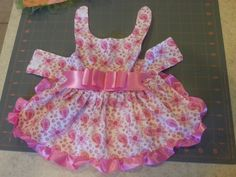 Putterbutt would look adorable in this !!!                         Pink Paisley Dog Dress sizes XXS XS Small and by PlainJaneB2B, $25.00