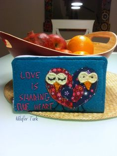 Love is sharing one heart