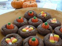 cookies calabazas