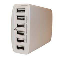 i-xtm 60 Watt 6 Port USB Desktop Rapid Charger - Lifetime No-Hassle Free Replacement Guarantee - Charge Muti Portable Micro Wifi Wireless 3.0 Bluetooth Battery Adapter Device - Wall Hub Bank Power Supply - iPhones, iPads, iPods, Samsung i-xtm http://www.amazon.com/dp/B00QFW230M/ref=cm_sw_r_pi_dp_sBIPub1M5CVR5