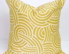 gold pillow on Etsy, a global handmade and vintage marketplace.