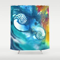 Sea Jewels No. 8 ... Shower Curtain from by KathyMortonStanion