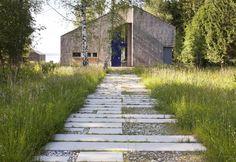 Ansicht Zugang: skandinavischer Garten von architekt stephan maria lang