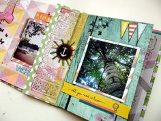 Mini album Summer Camp #1 - mon bric à scrap