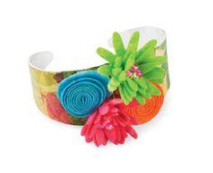 Modge Podge bracelet! Love it! Michael's! :)