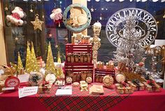 Christmas displays in the shop!