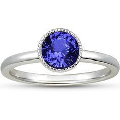 Absolutely gorgeous blue sapphire engagement ring from brillant earth.