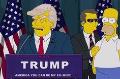 Há 16 anos, muito antes de ser eleito Presidente dos EUA, Donald Trump chegou à Casa Branca num episódio da série.