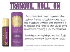 Young Living Essential Oils: Tranquil Roll onhttps://www.youngliving.com/vo/#/signup/start?sponsorid=3371890&enrollerid=3371890&isocountrycode=US&isolanguagecode=en&type=member