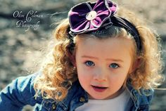 JERSEY Headband with FLOWER and Vintage by SweetSparrowDesign, $10.00 #etsy #upcycled #kidfashion