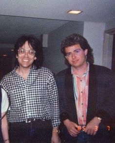 Jeff & Luke - Jeff had a great smile....<3