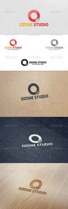 Ozone Studio  Logo Template — Vector EPS #branding #o3 • Available here → https://graphicriver.net/item/ozone-studio-logo-template/5652846?ref=pxcr