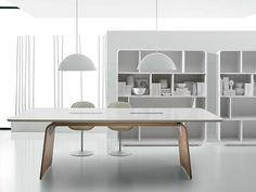 SESTANTE Meeting table by IFT design Nikolas Chachamis