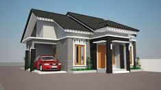 Modern house front elevation with modern house front pictures House Roof Design, Small House Design, Minimalist House Design, Minimalist Home, Modern Entrance Door, Front Elevation Designs, Australia House, Latest House Designs, Design Exterior