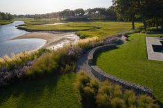 CTASALA (Connecticut Chapter - American Society of Landscape Architects) 2020 Honor Award Mill Creek, Landscape Architects, Artemis, Golf Courses, Gardens, River, Contemporary, School, Outdoor